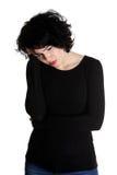 женщины головной боли терпя Стоковое фото RF