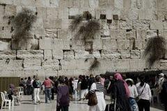 женщины голося стены святого места Стоковые Изображения RF