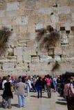 женщины голося стены святого места Стоковое Изображение
