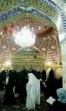 женщины завуалированные мечетью Стоковые Фото