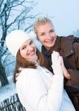 женщины зимы одежды Стоковое фото RF