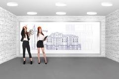 Женщины инженера Стоковое фото RF