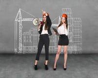 Женщины инженера Стоковые Изображения RF