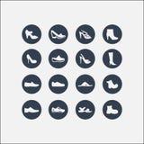 Женщины и ботинки людей Стоковое Изображение
