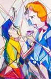 2 женщины и чая бесплатная иллюстрация