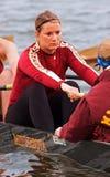женщины команды rowing s Минесоты Стоковые Изображения RF
