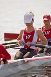 женщины команды rowing s руководства Стоковое Изображение