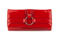 женщины красного цвета мешка Стоковая Фотография RF
