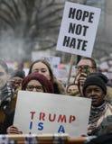 Женщины март в Торонто Стоковая Фотография