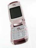 женщины мобильного телефона Стоковая Фотография
