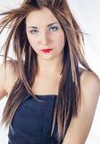 Женщины моды с светлыми волосами стоковые фотографии rf
