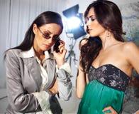 Женщины моды Стоковые Фотографии RF