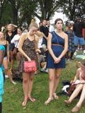2 женщины на годовщине Стоковое Изображение