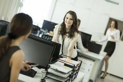 Женщины на офисе Стоковое Изображение RF