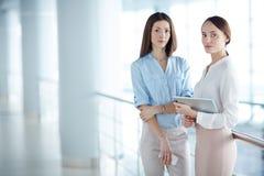 Женщины на офисе Стоковая Фотография RF