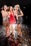 3 женщины на партии Стоковое фото RF