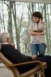 Женщины на психологической встрече Стоковое Фото