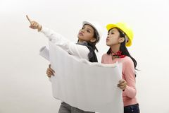 Женщины на работе Стоковые Изображения RF