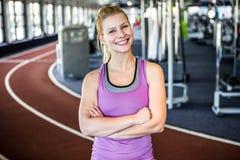 Женщины на спортзале Стоковая Фотография RF