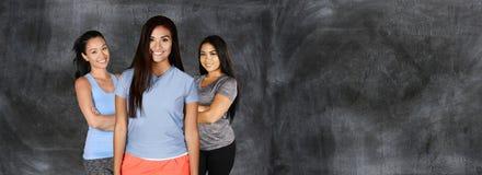 Женщины на спортзале Стоковая Фотография