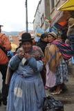 Женщины на улице Ла Paz Стоковое Изображение RF