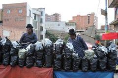 Женщины на улице Ла Paz Стоковое Фото