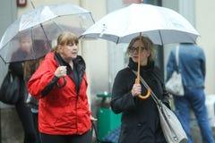 женщины на улице Стоковые Фото