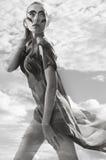 женщины неба Стоковое фото RF