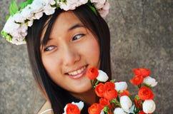 Женщины невесты тайские Стоковое Изображение RF