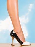 женщины ноги сексуальные Стоковое Изображение