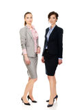 2 женщины нося обмундирования офиса Стоковые Изображения