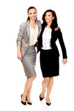 2 женщины обнимая один другого Стоковые Изображения RF