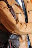 женщины одежды кожаные s Стоковая Фотография RF