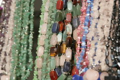 женщины ожерель s Стоковое Фото