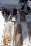 Женщины около Bodnath Стоковое фото RF
