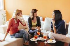 Женщины дома Стоковое фото RF