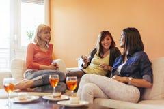 Женщины дома Стоковые Изображения RF