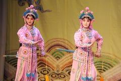 2 женщины - опера: Утверждение Chu Хана Стоковое Изображение