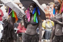 женщины парада 3 Стоковая Фотография
