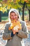 женщины парка Стоковые Изображения RF