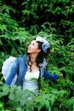 женщины парка Стоковое фото RF