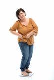 женщины полного маштаба стоящие Стоковое фото RF