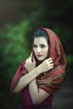 Женщины портрета красивые Стоковые Фотографии RF
