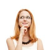 женщины портрета крупного плана милые молодые Стоковые Фотографии RF