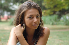 женщины портрета молодые Стоковые Фото