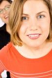 женщины портрета 2 молодые Стоковые Изображения RF