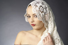 женщины портрета очарования Стоковая Фотография RF