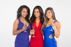 Женщины празднуя Стоковая Фотография RF
