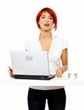 женщины представления дела сь Стоковые Изображения RF