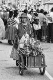 Женщины продаж с тележкой Стоковые Фото
